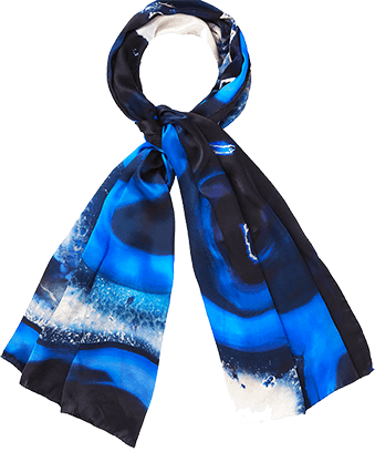 LONG SILK SCARVES SAVE £80+